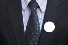 Distintivi vuoti di voto Fotografie Stock Libere da Diritti