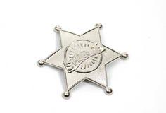 Distintivo degli sceriffi Fotografia Stock
