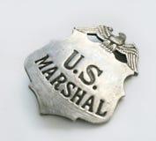 Distintivo degli Stati Uniti Marshall Fotografia Stock Libera da Diritti