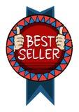 Distintivo del best-seller Illustrazione di Stock