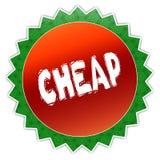 Distintivo del girasole con testo ECONOMICO Immagine Stock