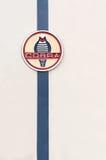 Distintivo della cobra di CA Immagini Stock