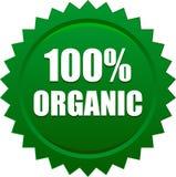 Distintivo della guarnizione del bollo del prodotto biologico illustrazione di stock
