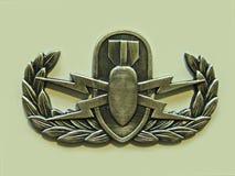 Distintivo di base di EOD Fotografia Stock Libera da Diritti
