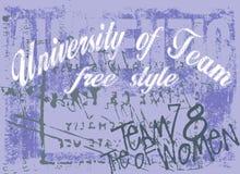 Distintivo di disegno Immagini Stock Libere da Diritti