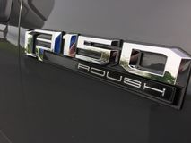 Distintivo di F150 Roush immagine stock libera da diritti