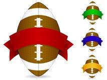 Distintivo di football americano royalty illustrazione gratis