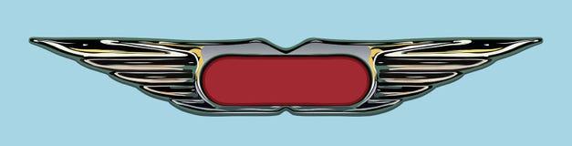 Distintivo di Grunge illustrazione di stock