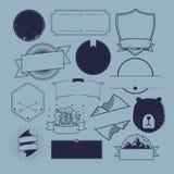 Distintivo Logo Collection Concept di simbolo dell'icona Fotografia Stock Libera da Diritti