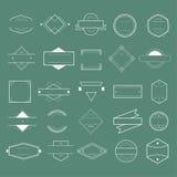 Distintivo Logo Collection Concept di simbolo dell'icona Immagine Stock Libera da Diritti