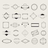 Distintivo Logo Collection Concept di simbolo dell'icona Fotografie Stock Libere da Diritti