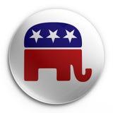 Distintivo - repubblicano royalty illustrazione gratis