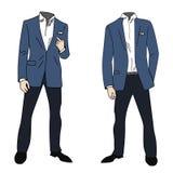 Distinto homem de negócio bem vestido Fotografia de Stock