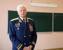 Distinto piloto militar soviético, Nikolai Moskvitelev Coronel-geral imagens de stock royalty free