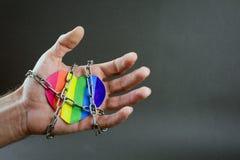Distinzione di LGBT fotografia stock libera da diritti