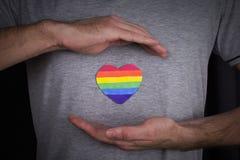 Distinzione di LGBT fotografie stock