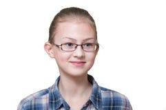 Distogliere lo sguardo teenager della ragazza, Fotografie Stock Libere da Diritti