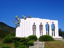 Distomo Memorial, Greece Stock Photos