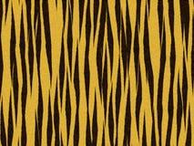 Distorcido alaranjado do tigre animal da textura da pele Fotos de Stock Royalty Free