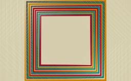 Distorsión abstracta del fondo de la forma del rombo Foto de archivo libre de regalías