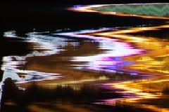 Distorsión abstracta digital de las interferencias de la textura del fondo de la pantalla Imagenes de archivo