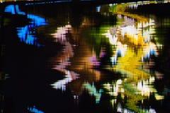 Distorsión abstracta digital de las interferencias de la textura del fondo de la pantalla Imágenes de archivo libres de regalías