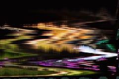 Distorsión abstracta digital de las interferencias de la textura del fondo de la pantalla Fotos de archivo