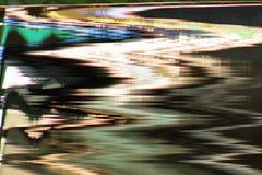 Distorsión abstracta digital de las interferencias de la textura del fondo de la pantalla Fotografía de archivo