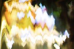 Distorsión abstracta digital de las interferencias de la textura del fondo de la pantalla Fotos de archivo libres de regalías