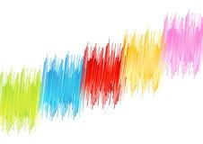 Distorsión del arco iris Fotos de archivo libres de regalías