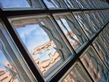 Distorsione di vetro Fotografia Stock Libera da Diritti