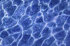 Distorsioni delle onde di acqua dello stagno Immagine Stock Libera da Diritti
