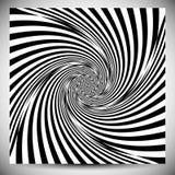 Distorsionseffekter på olika modeller Geometrisk deformerad textu royaltyfri illustrationer