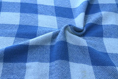 Distort tablecloth Stock Image