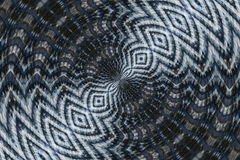 Distorted Abstract Pattern Royalty Free Stock Images