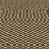 Distorted brown checkered background Royalty Free Stock Image