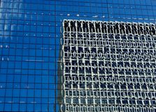 Distorted Building Reflections Royalty Free Stock Image