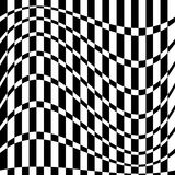 Distorted chequered checkered картина с прямоугольниками и squa иллюстрация вектора