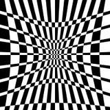 Distorted chequered checkered картина с прямоугольниками и squa иллюстрация штока