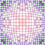 Distorted circles Royalty Free Stock Images