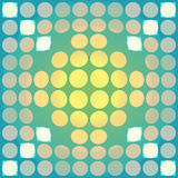 Distorted circles Stock Photo