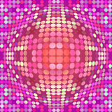Distorted circles Royalty Free Stock Photography