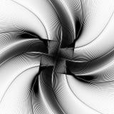 Distorted geometric pattern. Royalty free vector illustration Stock Photo