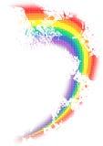 Distorted rainbow Royalty Free Stock Image
