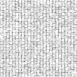 Distorted squares abstract pattern.Black squares isolated on white background. Illustration for your design.Noisy bricks texture. Royalty Free Stock Images