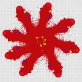 Distorted a tordu la conception graphique sur un fond blanc illustration de vecteur