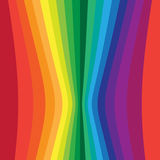 Distorted vertical colorful stripes Royalty Free Stock Image