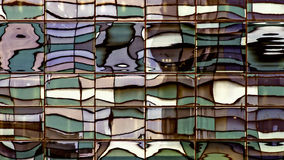 Distorted Windows Reflection - Color Replaced Stock Photo