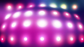 Distorting Glowing color lights stock video footage
