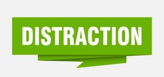 distracción stock de ilustración